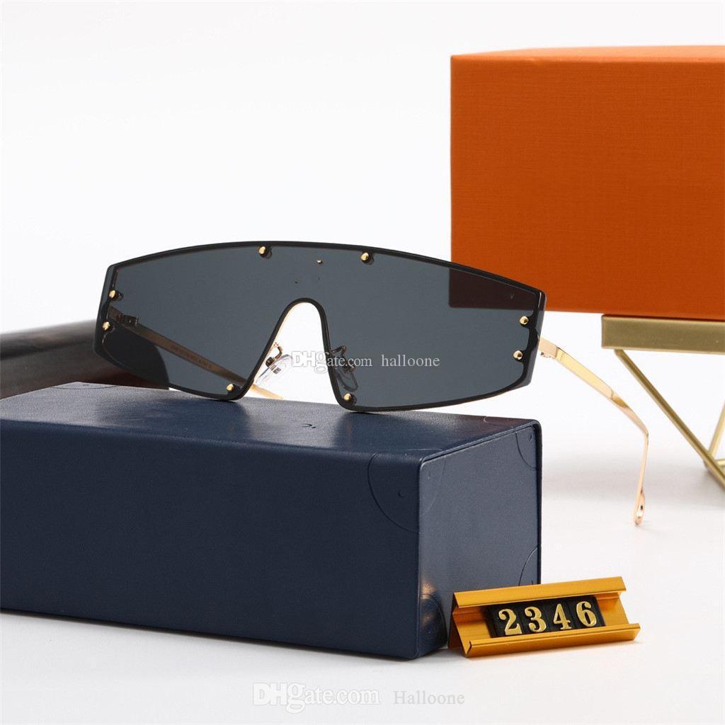 Hohe Qualität 2021 Luxus Männer Frauen Sonnenbrille Designer Vintage Pilot Marke Sonnenbrille Band UV400 Ben Sonnenbrille mit Kasten und Fall 2346