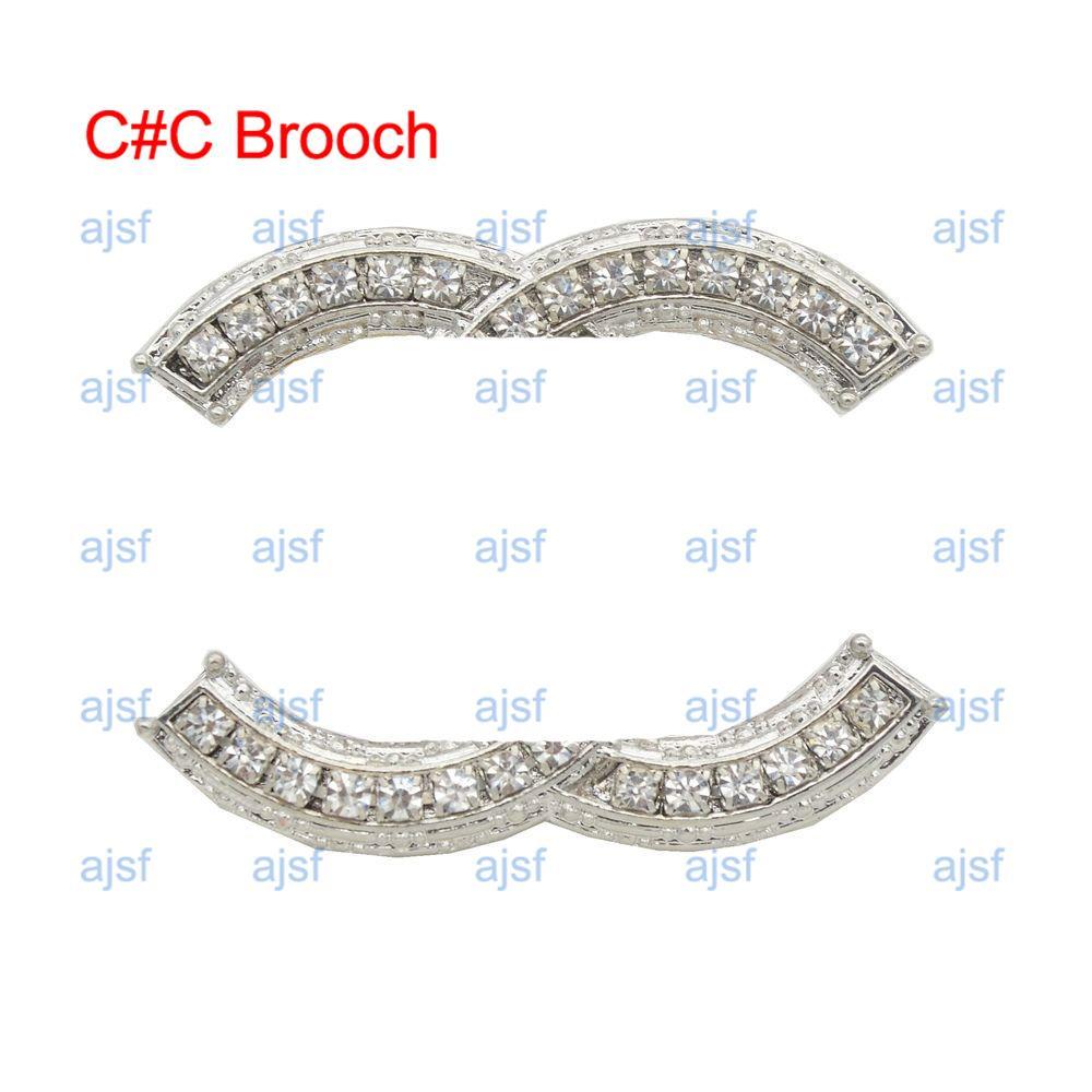 Último diseñador broche de lujo diamante mujeres hombres broches paris moda marca broche exquisito joyería regalo instock