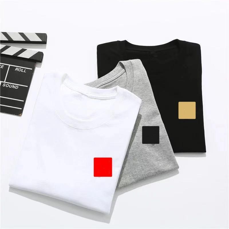 2021 Fashion Mens T Shirt T-shirt Tees Polos Summer Manica Corta Top European American Popolare T-shirt da stampa Uomo Donna Coppie di alta qualità