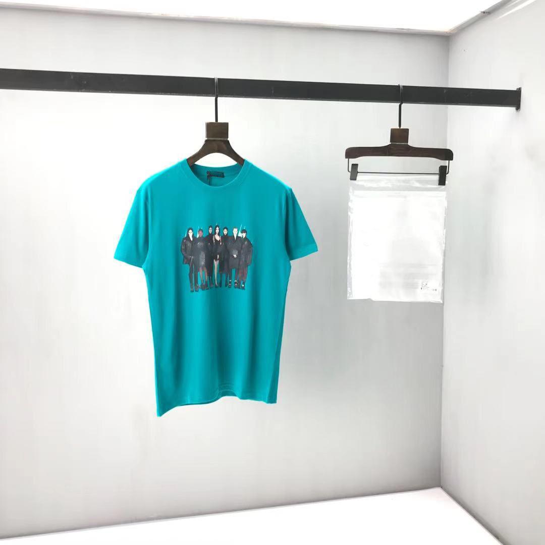 2020SSS Spring and Summer NOUVEAU Panneau à col coton à manches courtes à manches courtes T-shirt Tableau: M-L-XL-XXL-XXXL Couleur: Noir Whinbq8 9H4A