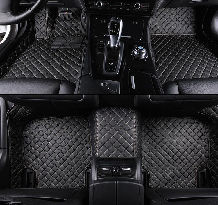 Tapis de sol de voiture personnalisé pour accessoires de tapis de voiture Ssangyong Rexton