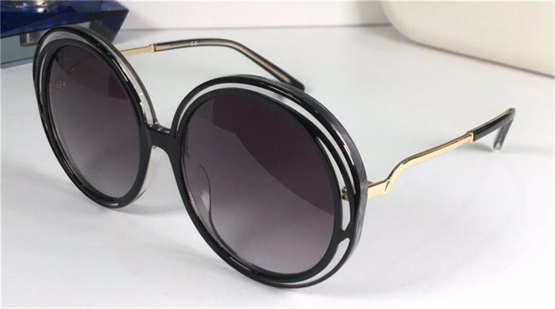 Nova moda Sunglass 3614s padrão espiral redondo quadro retro design popular design elegante Proteção de estilo decorativo óculos de qualidade superior