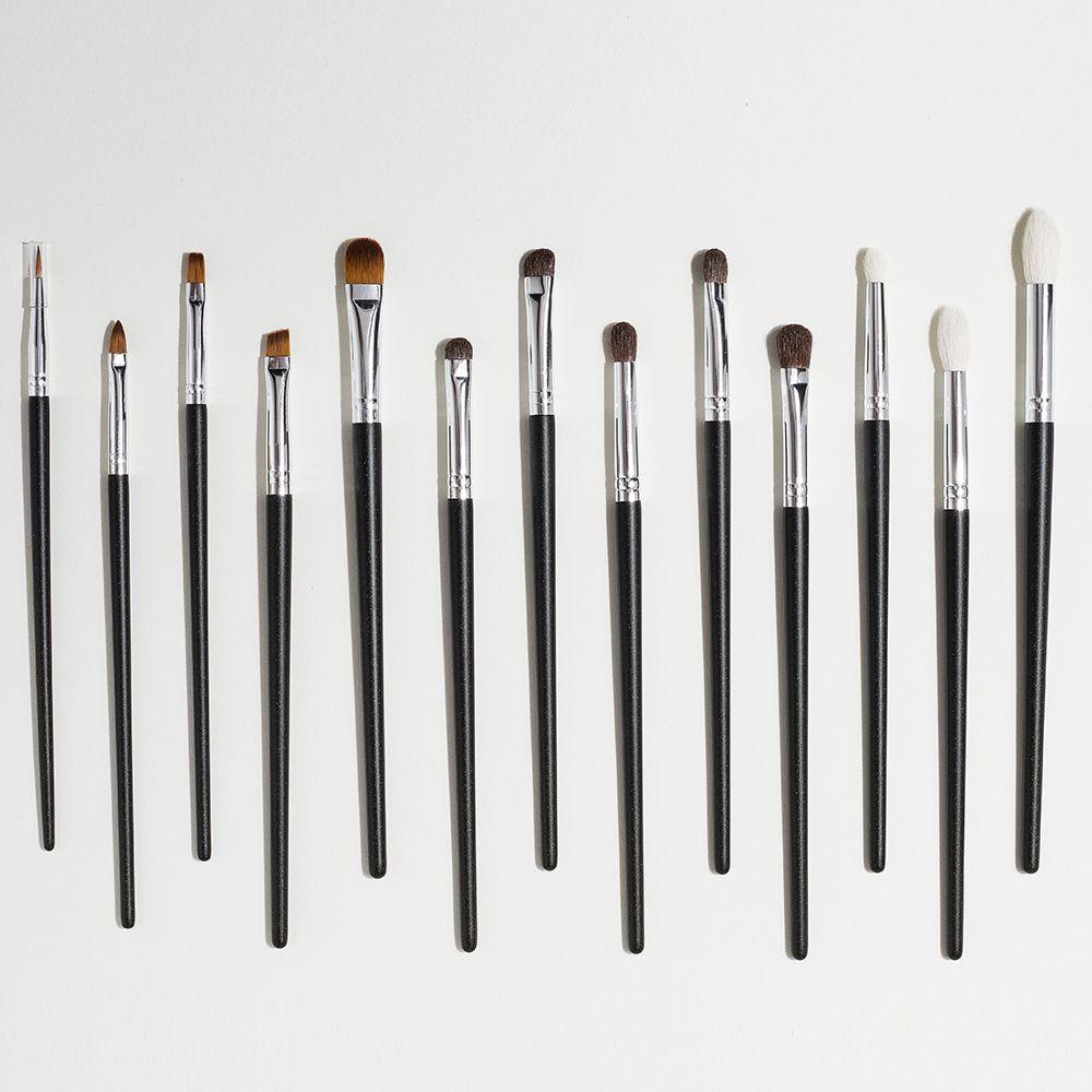SHINEDO 13 STÜCKE Bleistift Makeup Pinsel Werkzeugsatz Kosmetik Lidschatten Mischungslippe Augenbraue Concealer Schönheit Make-up Pinsel Maquiagem C0301