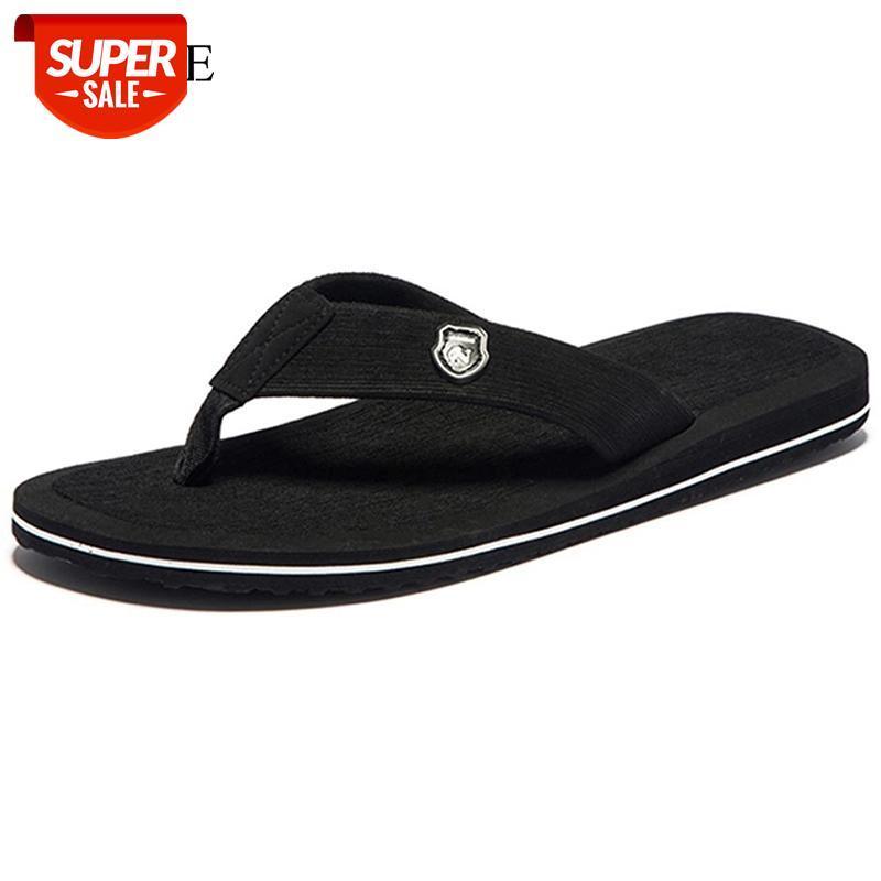 Hommes Flip Flop Summer Beach Sandales Pantoufles pour hommes Appartements Haut Top Chaussures antidérapantes Zapatos chanclas de Hombre Drosphipping # AS0X