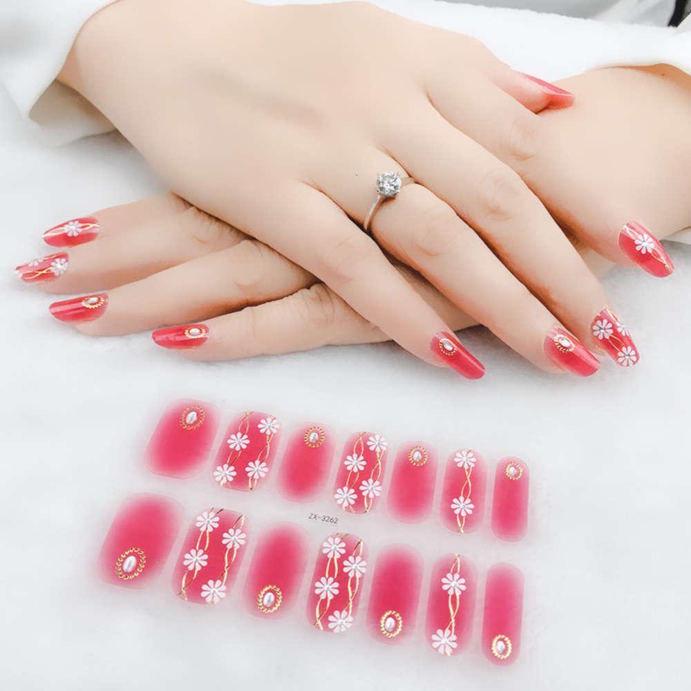 Beauty Paste 2020 Neue Nagelaufkleber 3D Drei Dimensionsfarbe Diamant Nagelaufkleber Koreanische Mini Frische Nagelaufkleber