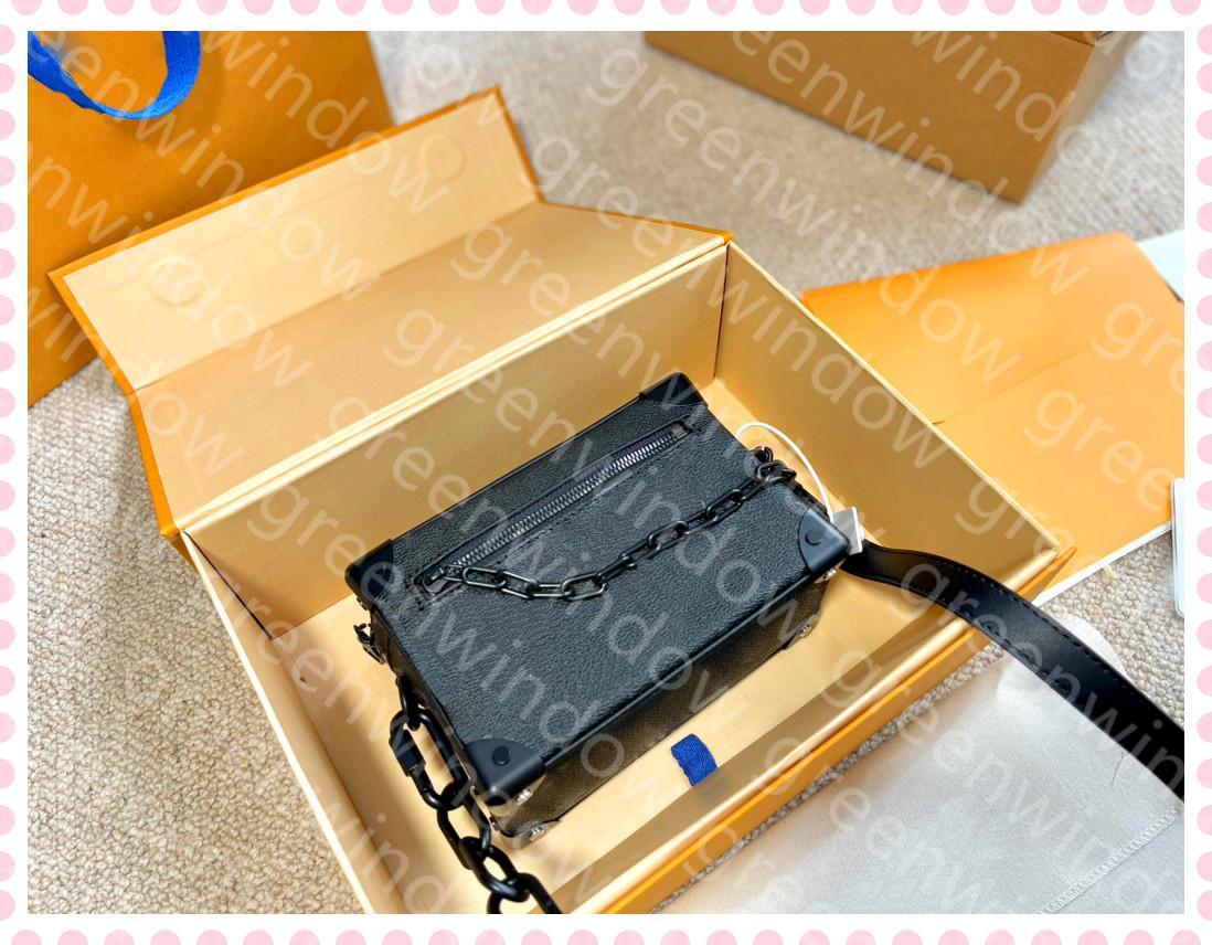 21030501DQ Sac Soft Flower Box Luxurys Trunk Femmes Mini Beaux Bandes Sacs Poche Femmes Femmes Sac de mode Designers 2021 Crossbody Tide min LGSW