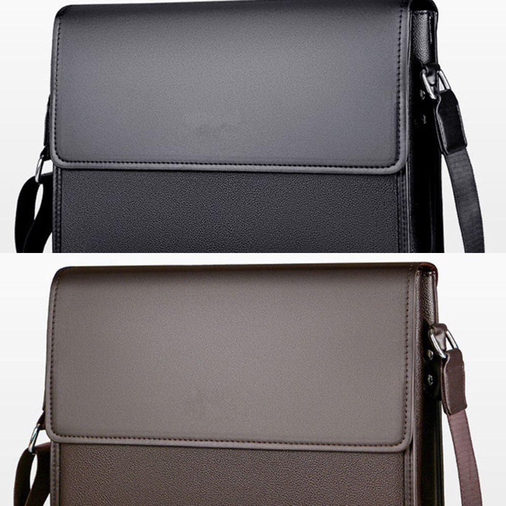 New Arrival Business Men Messenger Bags vintage Leather Crossbody Shoulder Bag for male brand Casual Man Handbags Fashion bags C0224