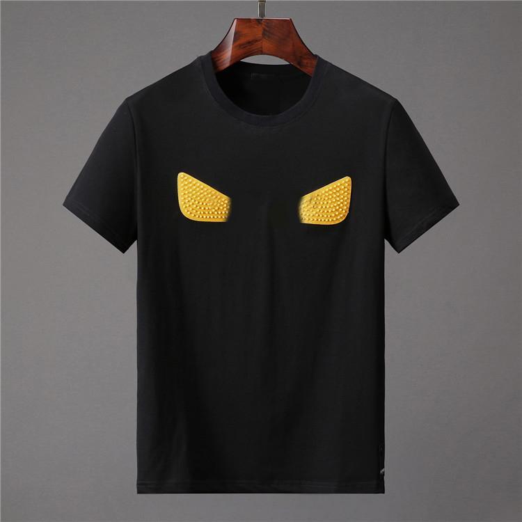 Moda Tasarımcılar Erkekler T Shirt Mens T Gömlek Erkek Rahat mektuplar Için Yaz Kısa Kollu Erkek Tee Gömlek Kadın T Gömlek Giyim W85