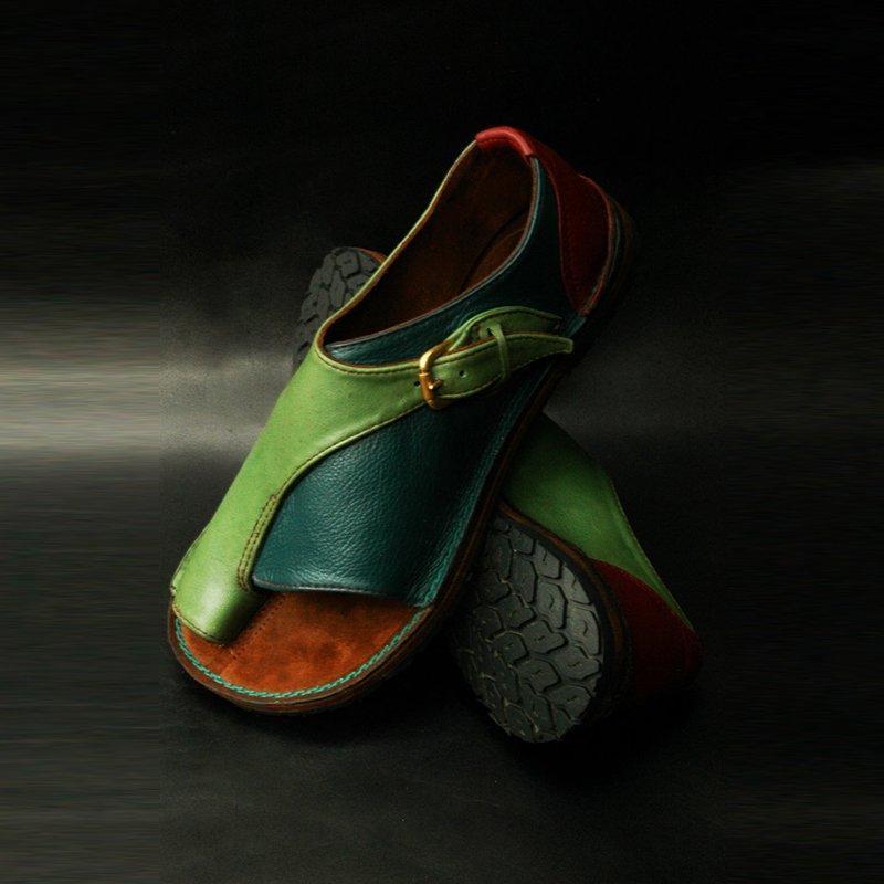 Wigqcy mujeres cómodas zapatos lisos planos plataforma plana damas casual de punta grande punta de corregir sandalias ortopedic japón corrector flip flop j2023