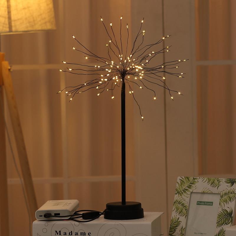 HobbyLane LED Solaire Solar Shape Fire Feux de feux d'artifice de la nuit pour la décoration de Noël
