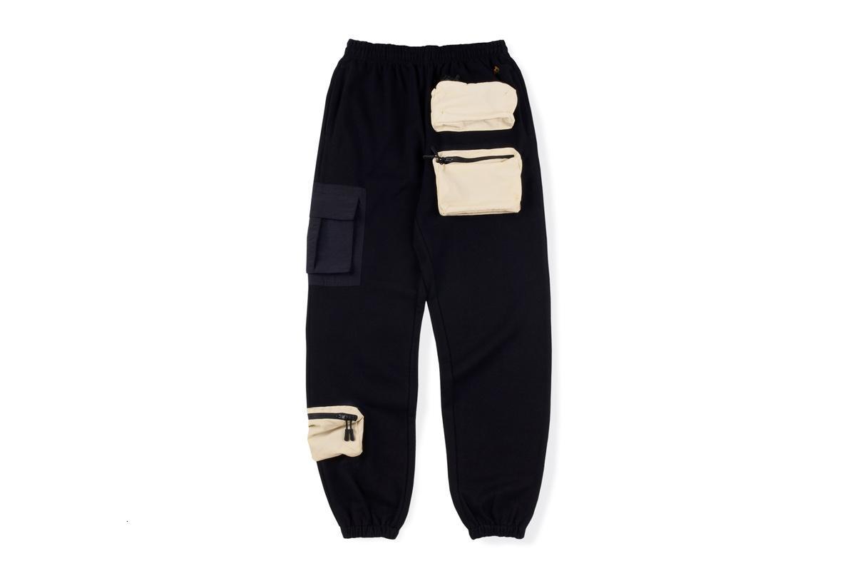 2021 Yeni Travis Scott Kaktüs Jack AG Yardımcı Kargo Kadın Erkek Joggers İpli Sweatpants Hip Hop Astroworld Pantolon Ecnz