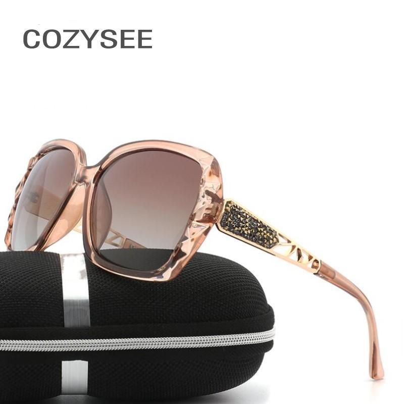Nuovo Arrivo Design Occhiali da sole Occhiali da sole oversize Occhiali da sole polarizzati di alta qualità femminile Prismatic Eyewear UV400