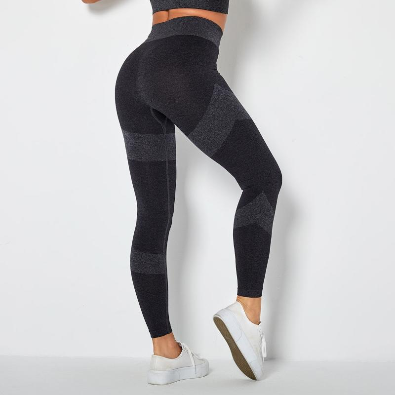 2021 Hohe Taille Nahtlose Sport Leggings Frauen Trainingsgymnastik Leggins Push Up Super Stretchy Fitness Legging Jogging Hose Hosen