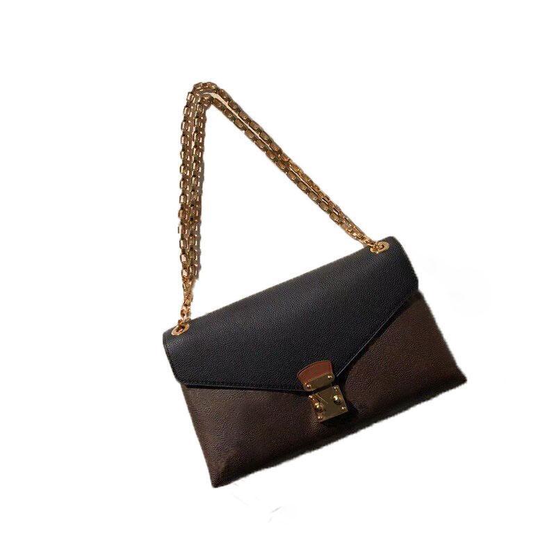 Designers cadeia bolsa de ombro bolsa moda clássico letra padrão feminino diagonal sacos de alta qualidade corpo cruzado