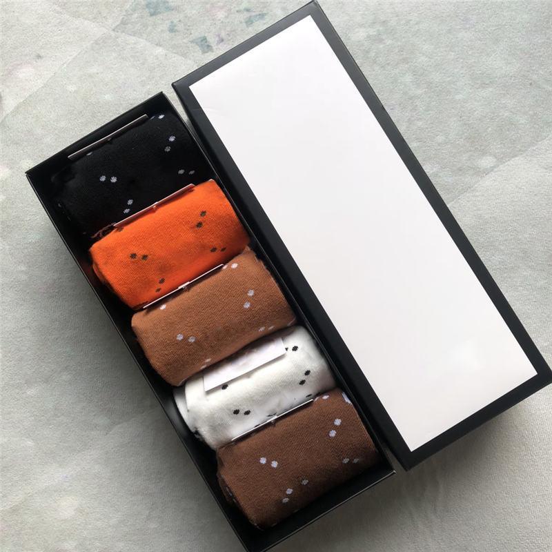 더블 글자 긴 스타킹 편안한 부드러운 면화 여자 양말 패션 브랜드 여성 스포츠 스타킹 선물