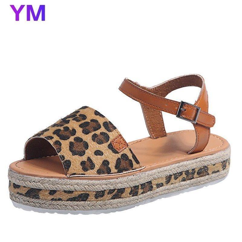 Yaz Kama Espadrilles Kadın Sandalet Çiçekler Açık Toe Gladyatör Sandalet Kadınlar Rahat Platformu 2021 Ayakkabı Kadın
