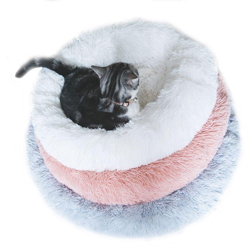 Comfy beruhigende Hundebetten für große mittelgroße kleine Hunde Welpen Labrador erstaunlich Katze Marshmallow Bett waschbar Plüsch Pet