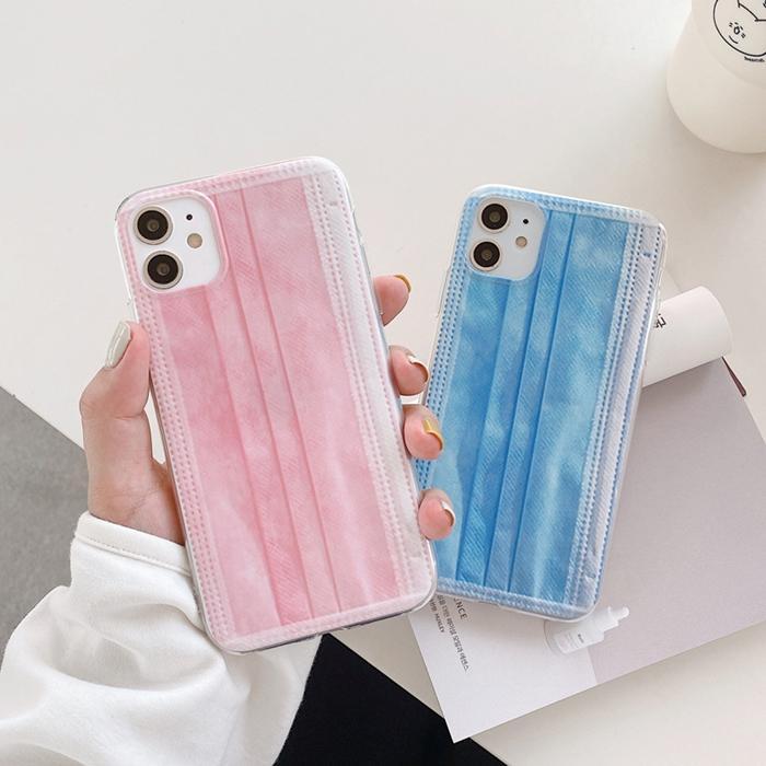 IPhone 11 x XS 8 7 Artı Çift Modelleri Yaratıcı Maske Telefon Kılıfı Için iPhone11 Pro Max Cep Telefonu Kabuk Kapak