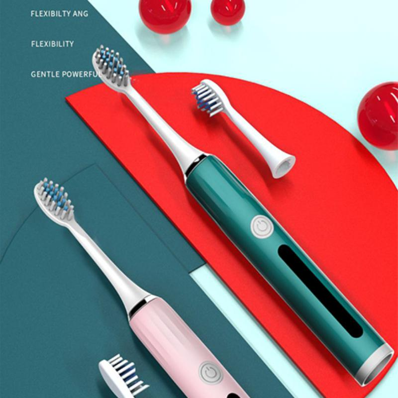 Global Versie Oclean X Pro Sonic Elektrische con 4 cabezas de cepillo de dientes Tandenborstel Volwassen IPX7 2-en-1 Oplader Houder Kleur Pantalla táctil Snelle Lading