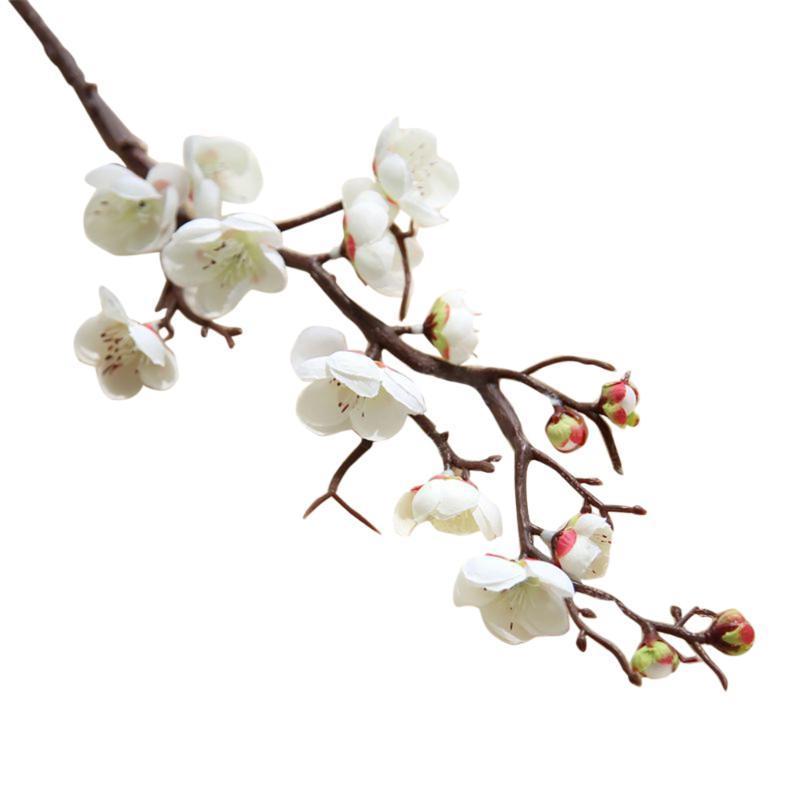 장식 꽃 화환 DIY 매화 벚꽃 시뮬레이션 꽃 체리 홈 장식 웨딩 가짜