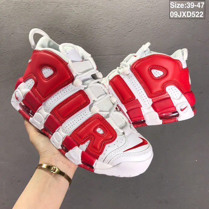 Designer Uptempo QS mens basketball shoes Chicago Scottie Pippen trainers sports sneakers cushion sole zapatillas 36-47