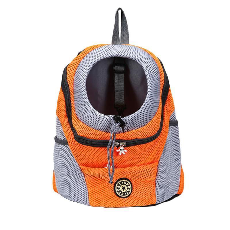 Pet Dog Bag Bag рюкзак передняя карманная сетка голова маленький собачий носитель рюкзак для туристов