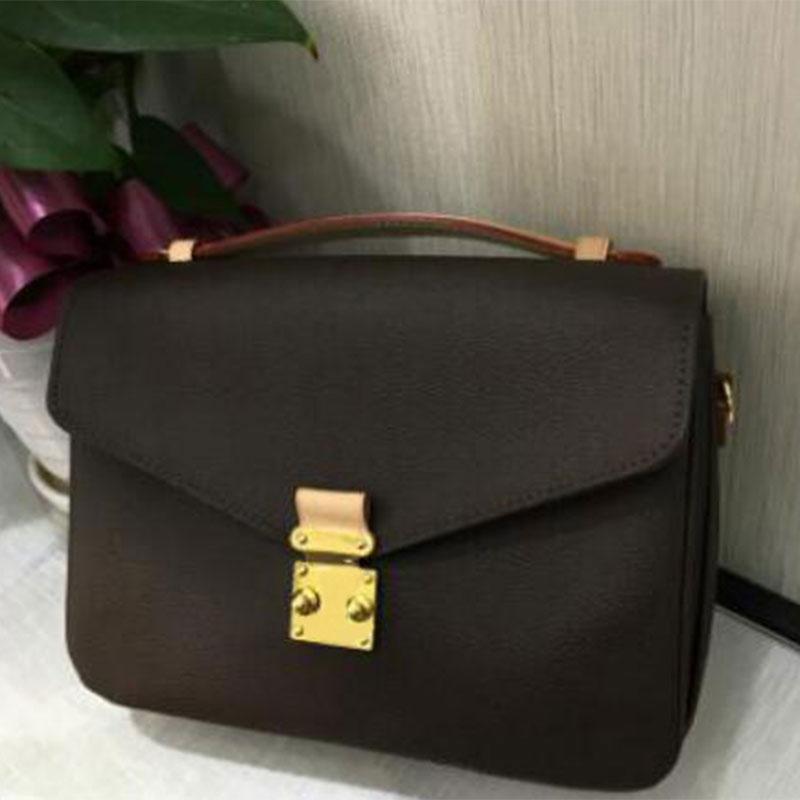 Spedizione gratuita di alta qualità in pelle PU donna marrone messaggio borse da donna borse a tracolla retrò borsa borse di modo borsa borse a tracolla