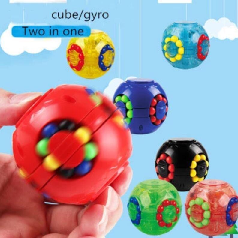 DHL Magic Puzzle Didget Cube Игрушки Пучок Стресс Шарные бобы Антиресурс Безрехождение EDC Декомпрессия для взрослых детей FY9408