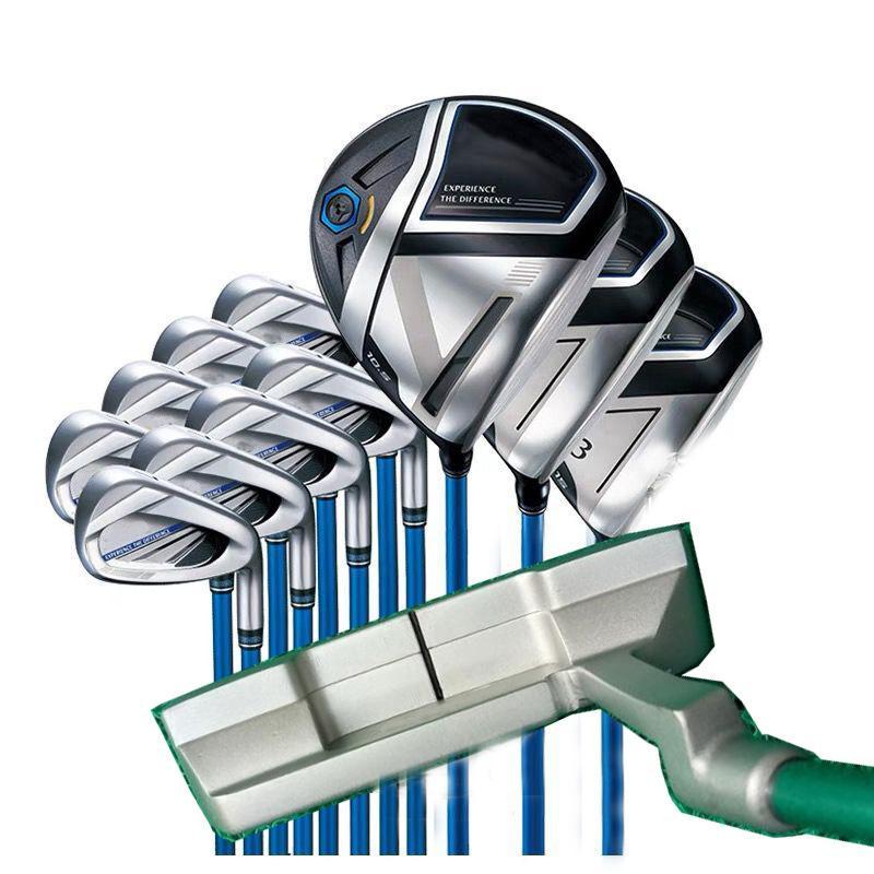 Komplette Set Golf Clubs MP1100 Treiber Woods + Irons + Putter R / SR / S FLEX Verfügbare Kostenlose Kopfkoos
