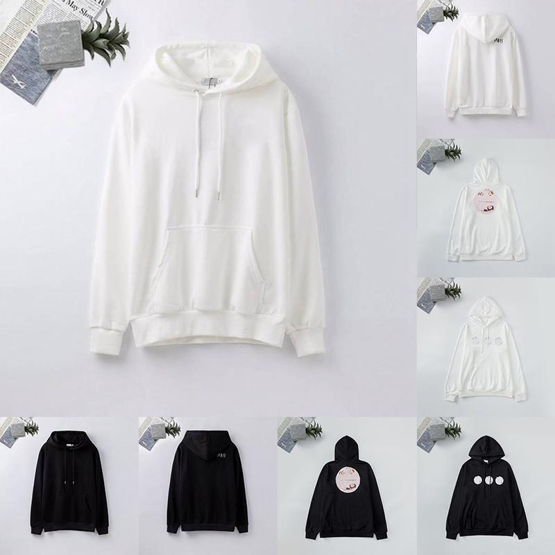 21ss Erkek Tasarımcı Hoodies Moda Bayan Sonbahar Kış Rahat Uzun Kollu Ceket Erkekler S Kazak Mektubu Baskılar Nakış Spor Kazak