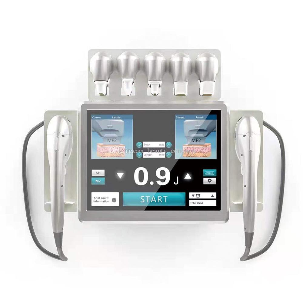 Profesyonel 7D HIFU Yüksek Yoğunluklu Odaklı Ultrason HIFU Yüz Kaldırma Vücut Zayıflama MMFU Makinesi Yüz ve Gövde için 7 Kartuşlu