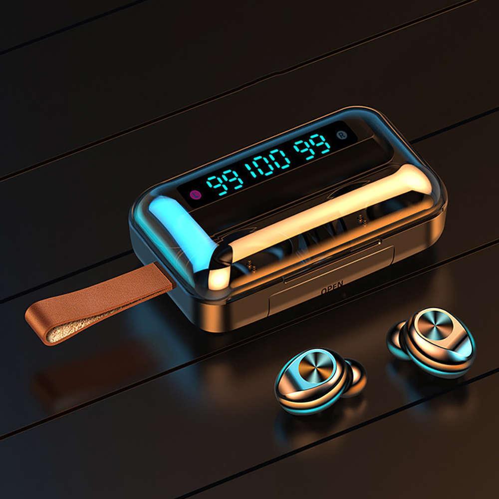 F9-11 TWS Fones de ouvido sem fio à prova d 'água Bluetooth 5.0 9D fones de ouvido estéreo fones de ouvido para smartphone gaming headset fones de ouvido