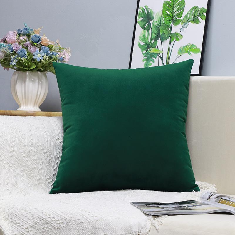 X177 Küçük Taze Kucaklama Yastık Dikey Şerit Süet Yastık Örtüsü Ev Eşyaları Hug Yastık Kılıfı Katı Renk Yastık ASDF Kapakları