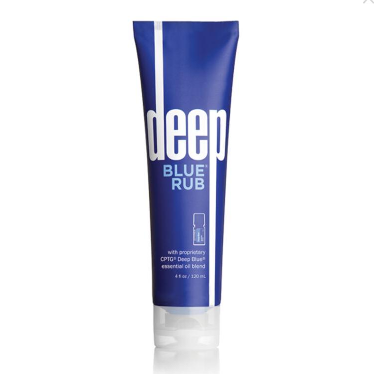 DHL Free Deep Blue Frotter Crème Topical avec huiles essentielles 120ml