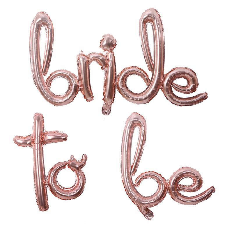 1 Set Sposa per essere palloncini Banner Banner Tazza di carta Willy Straw Plates Bachelorette Party Doccia da sposa Bridal Hen Party Decorazione di nozze