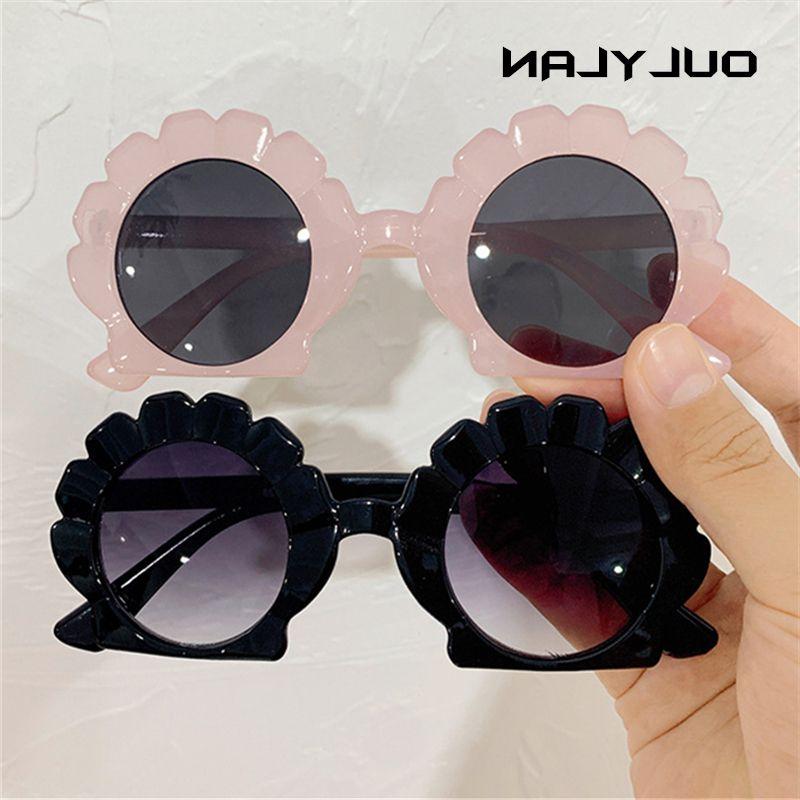 Euslylan enfants lunettes de soleil jolie cashell enfants rue shooding lunettes lunettes filles bonbons couleur lentille lunettes lunettes