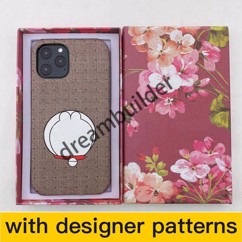 Atacetos casos de telefone de moda de desenhista para iPhone 12 pro máximo 11 11PRO 11PROMAX 7 8 mais x xs xr xsmax caso pu couro samsung s10 s20plus s20 nota 10p note20u shell