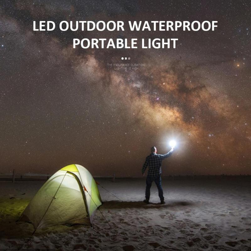Bulbo de emergência Lâmpada LED Caminhada USB Carregamento Portátil Night Light Camping Lâmpada Portátil Lanterna Impermeável Reparação Lâmpadas