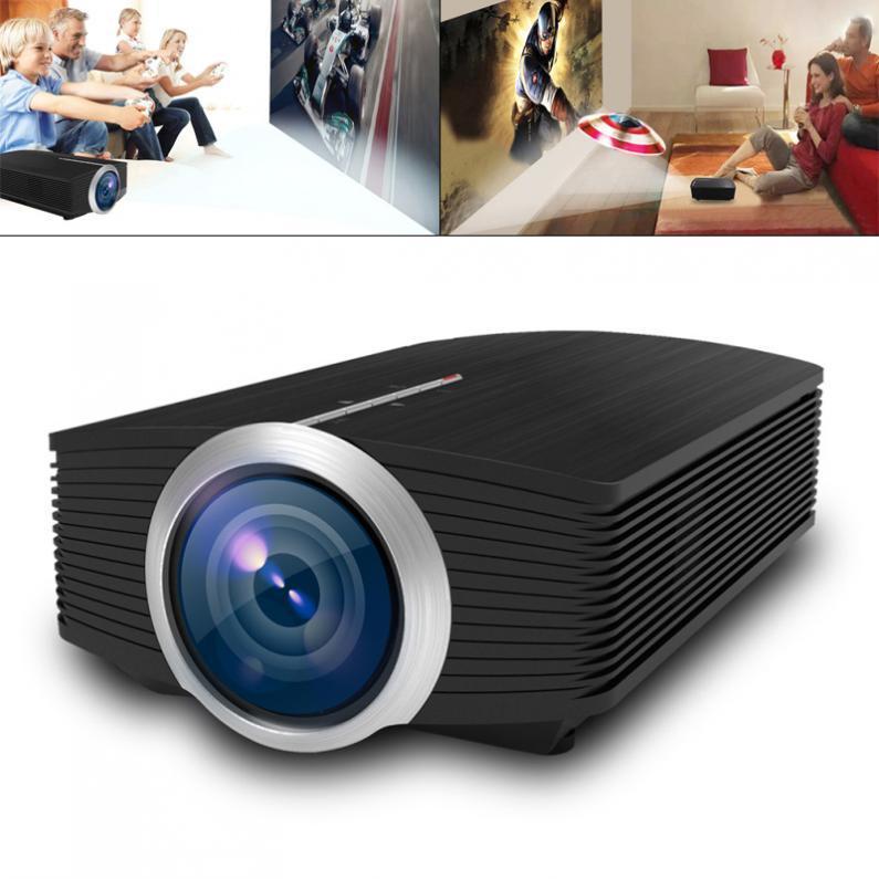 Universal YG500 HD Portable Mini LED Pocket Projector для домашних развлечений Поддержка 120 дюймов Большой экран проекции игры Beamer