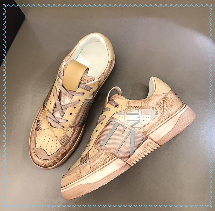 2021sa lüks yüksek kaliteli erkek tuval rahat ayakkabılar ithal buzağı derisi ve klasik dekorasyon