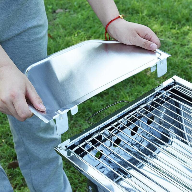 Ferramentas acessórios removíveis placa de especiarias de aço inoxidável BBQ Tempero especial para churrasco forno ao ar livre camping
