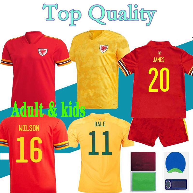 2021 Jersey de football du pays de Galles 21 22 Chemise de football Bale James Maillot Ramsey Camisetas de pied