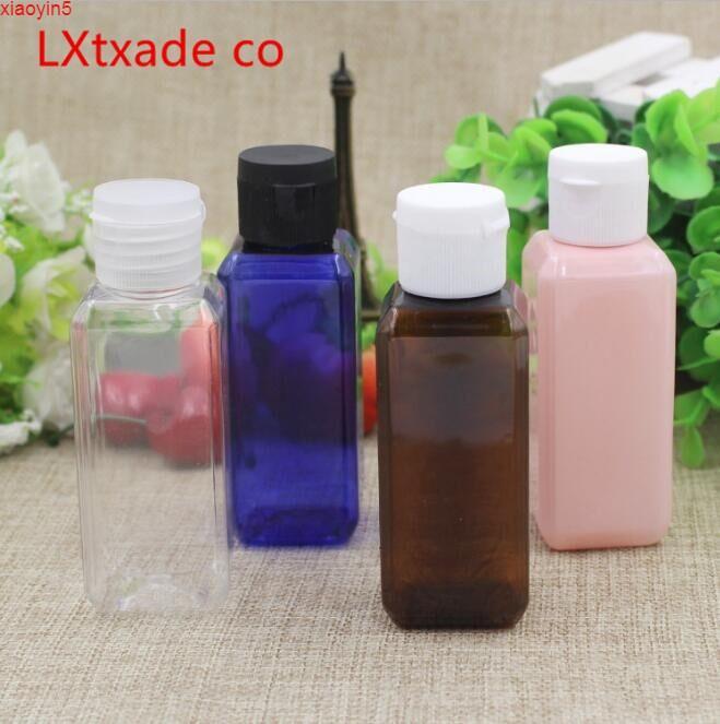 Высокая Quatityfree Доставка 50 г / мл синий розовый CLESR белый зеленый темно-коричневый пластиковый квадратный квадратный эмпайс Упаковка сливк крем для крем-шампуня с тонером шампунь