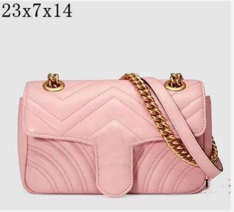 Hohe qualität berühmte marke designer umhängetasche pu leder mode kette kreuzkörper reine farbe weibliche frauen `s handtasche 5 colore