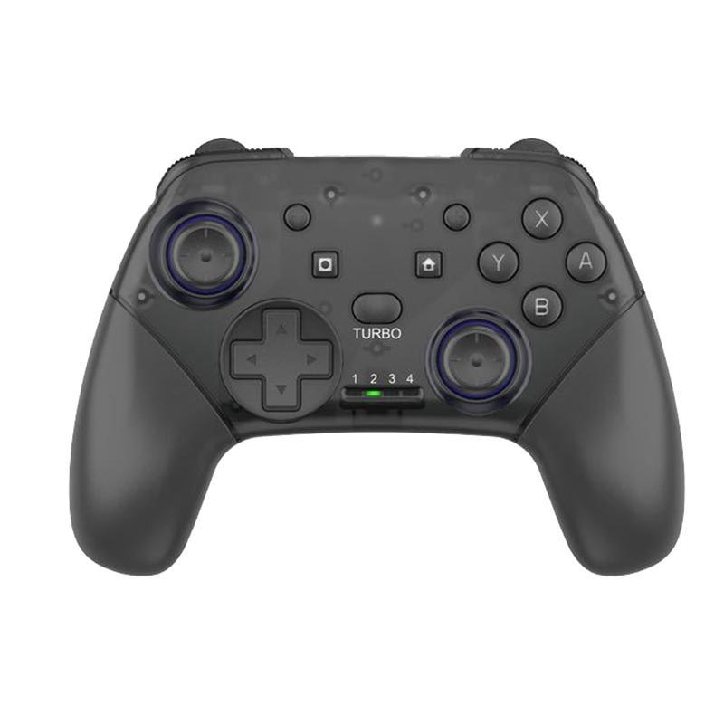 Gamepad With Burst Function, For Switch Pro Bluetooth Wireless Six-Axis NFC Somatosensors Vibration Game Controllers & Joysticks