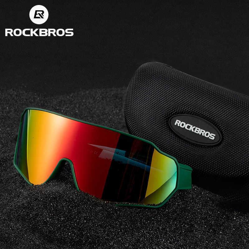 Fabrikauslass Rockbros Bikes Brille Männer Frauen Färbung Outdoor Sports Walking Eyewear Polarisierte Sonnenbrille Innere Fram 9cbf