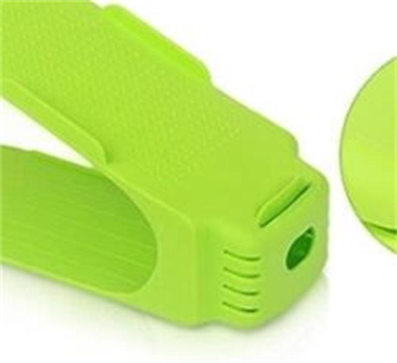10 шт. Обувная стойка Регулируемая обуви Стойка для Органайзер Обувь Обувь Стенд для хранения 98 V2