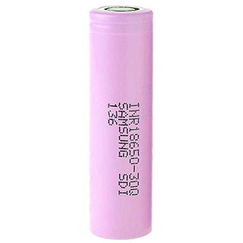 Alta Qualidade INR18650 30Q 18650 Bateria Rosa 3000mah 20A 3.7V Bateria recarregável de lítio recarregável para Samsung