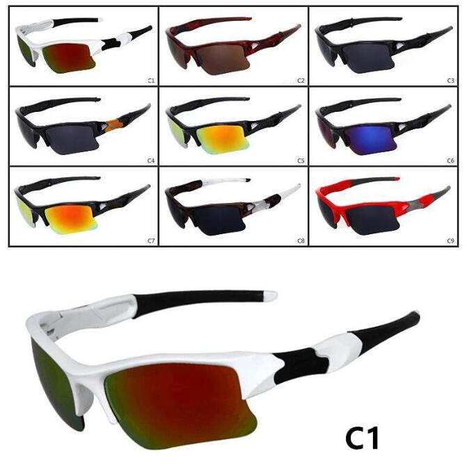 10 Piece Hot Summer Brand New Fashion Men's Bicycle Popular Sunglasses Sports Goggles Driving Sunglasses Cycling 9Colors Free Ship