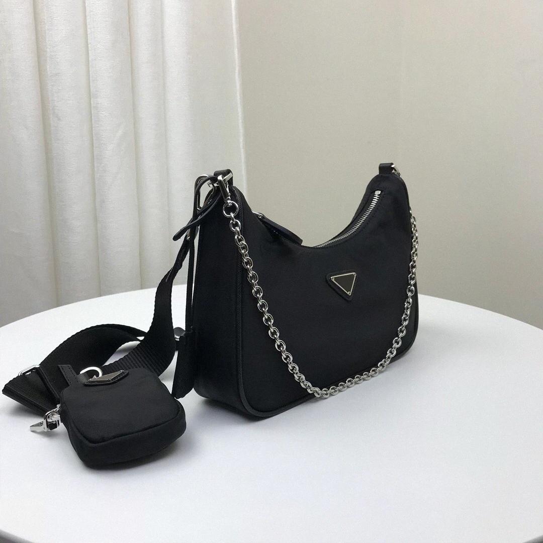 Re-Edition 2005 Nilen Designers Сумки на ремне Высококачественная кожаная сумка сумки дизайнер Леди Корпус роскошные цепные сумки сумки #
